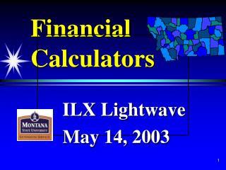 Monetary Calculators