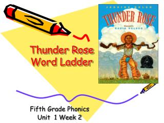 Thunder Rose Word Ladder