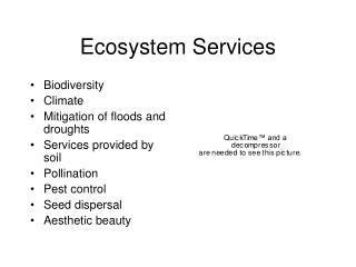 Biological system Services