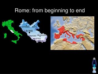 Rome: from start to finish