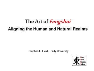 The Art of Fengshui Aligning the Human and