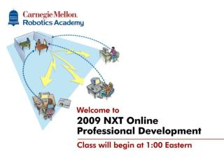 NXT-G Online Professional Development Classes will start at ...