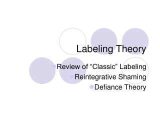 Naming Theory