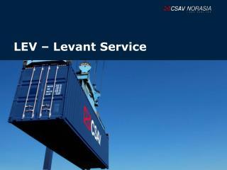 LEV Levant Service
