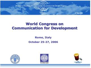 World Congress on Communication for Development
