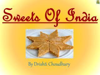 Desserts Of India