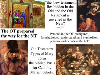 Old Testament Types of Mary structure the scriptural premise for ...