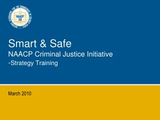 Savvy Safe NAACP Criminal Justice Initiative - Strategy ...