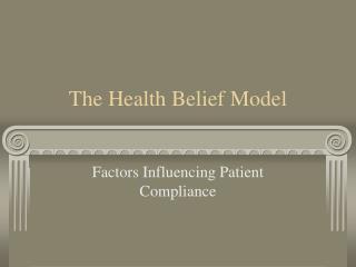 The Health Belief Model