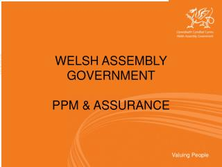 WELSH ASSEMBLY GOVERNMENT PPM ASSURANCE