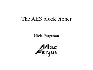 The AES square figure