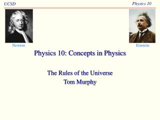 Material science 10: Concepts in Physics