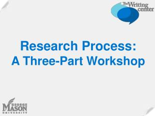 Exploration Process: A Three-Part Workshop