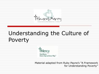 Understanding the Culture of Poverty