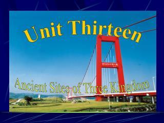 Unit Thirteen
