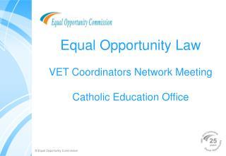 Break even with Opportunity Law VET Coordinators Network Meeting ...