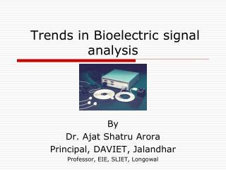 Patterns in Bioelectric signal examination