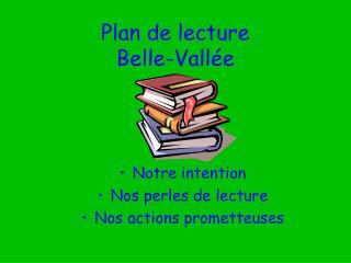 Arrangement de address Belle-Vall
