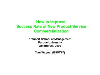 Step by step instructions to Improve Success Rate of New Product