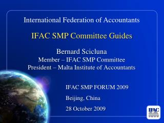 IFAC SMP Committee Guides