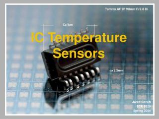 IC Temperature Sensors
