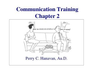 Correspondence Training Chapter 2
