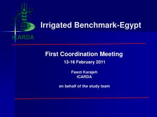 Fawzi Karajeh ICARDA in the interest of the study group