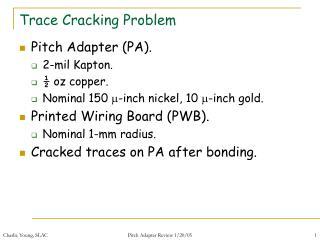 Follow Cracking Problem