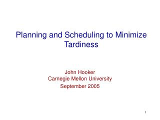Arranging and Scheduling to Minimize Tardiness