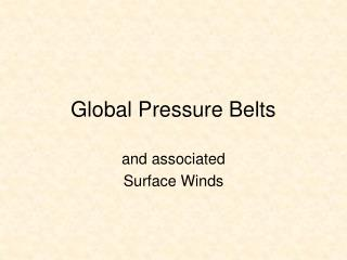 Worldwide Pressure Belts