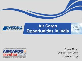 Air Cargo Opportunities in India