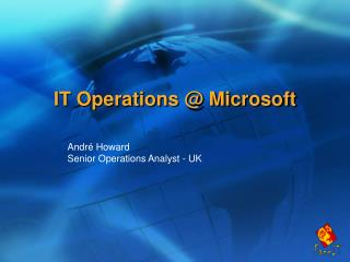 IT Operations Microsoft