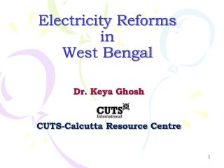 Power Reforms in West Bengal