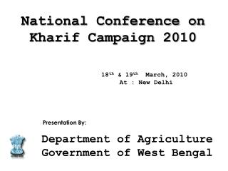 eighteenth nineteenth March, 2010 At : New Delhi