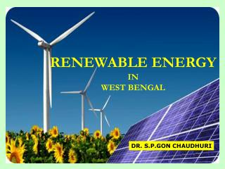 RENEWABLE ENERGY IN WEST BENGAL