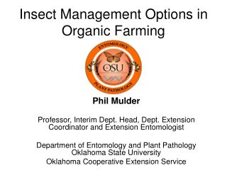 Creepy crawly Management Options in Organic Farming