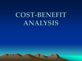 Money saving advantage ANALYSIS