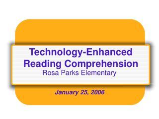 Innovation Enhanced Reading Comprehension