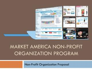 Market America Non-Profit Organization Program