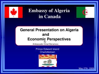 Government office of Algeria in Canada