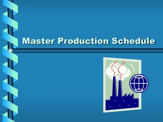 Expert Production Schedule