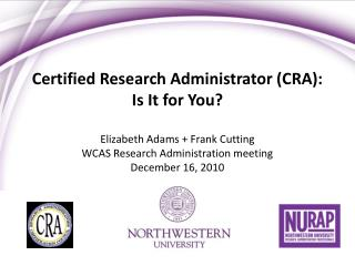 Affirmed Research Administrator CRA: Is It for You
