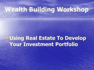 Riches Building Workshop