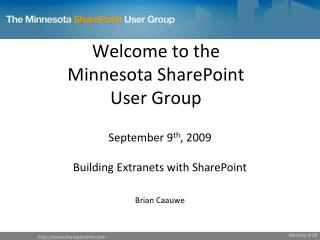 Building Extranets with SharePoint