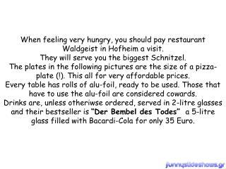 gigantic dishes