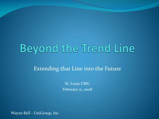 Past the Trend Line