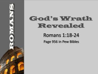 God s Wrath Revealed