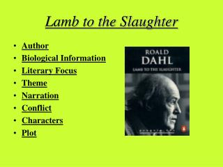 Sheep to the Slaughter