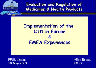 Assessment and Regulation of Medicines Health Products