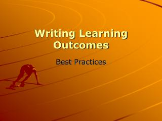 Composing Learning Outcomes